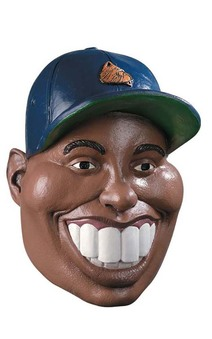 Famous Faces Nine Iron Tiger Woods Mask