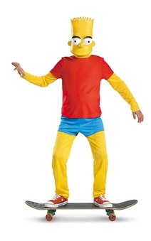 Bart Simpson Deluxe Child Costume