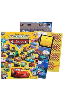 Licensed Disney Cars 2 Sticker Album Book Party Favour