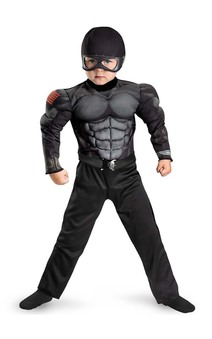 GI Joe Snake Eyes Child Costume
