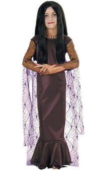 Morticia Addams Child Costume