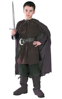 Aragorn Child Lord of the Rings Costume