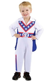 Evel Knievel Motor Bike Superstar Child Costume