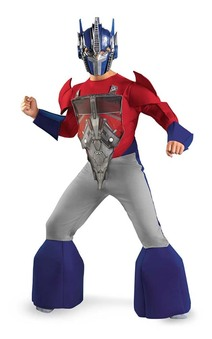 Optimus Prime Deluxe Child Transformers Costume
