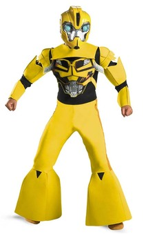 Bumblebee Deluxe Child Transformers Costume