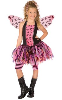 Skull Fairy Child Costume