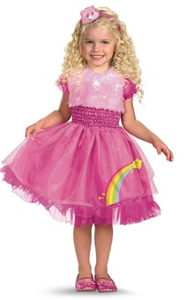 Cheer Rainbow Care Bear Child Costume