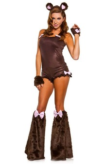 Teddy Bear Sexy Club Rave Wear Adults Costume