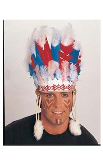 Chief Indian Adult Headdress