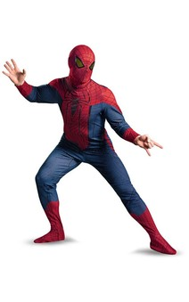 ADULT MENS PLUS SIZE AMAZING SPIDER-MAN SPIDERMAN