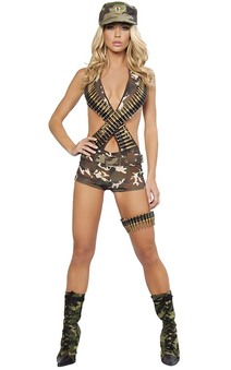 Military Babe Adult Army Costume