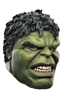 The Avengers Deluxe Hulk Mask (adult)