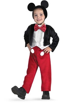 Mickey Mouse Deluxe Toddler & Child Costume