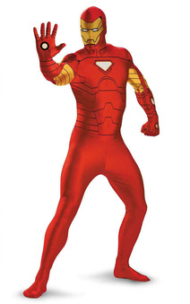 Iron Man 2nd Skin Bodysuit Child & Teen Costume
