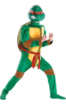 TMNT Raphael Muscle Chest Child Costume