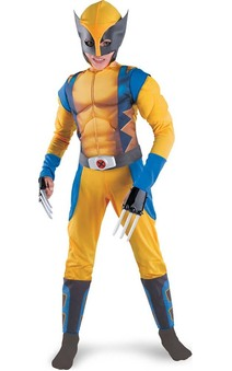 Wolverine Origins X Muscle Chest Child Costume
