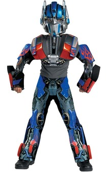Transformers Optimus Prime 3D Deluxe Child Costume
