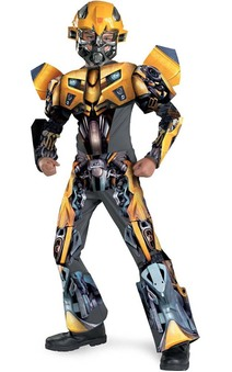 Transformers Bumblebee 3D Deluxe Child Costume