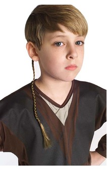 Anakin Skywalker Jedi Hair Briad
