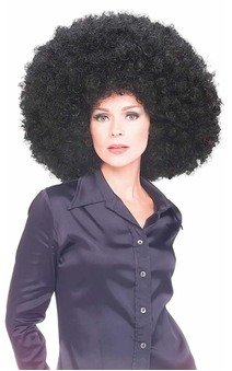 Black Oversize Afro / Clown Wig