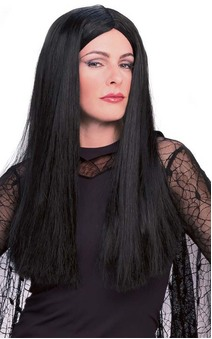 Morticia Addams Family Adult Wig