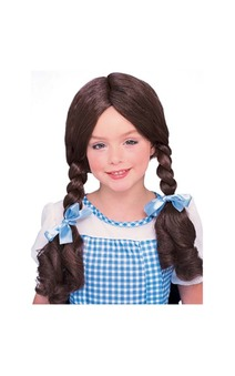 Dorothy Brown Child Wig
