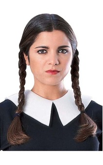Wednesday Adams Adult Wig