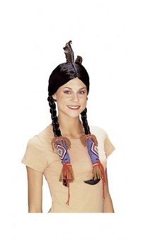 Indian Maiden Adult Wig