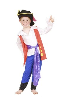 Captain Feathersword Wiggles Toddler Costume