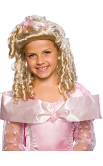 Storybook Blonde Goldie Locks Child Wig