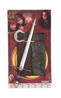 Aragorn Child Lord Of The Rings Accessory Kit