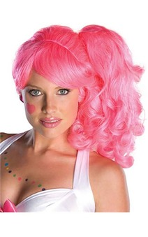 Candy Girl Pink Adult Wig