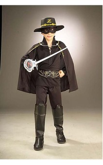 Zorro Child Costume Set