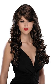 Angel Brown Long Adult Wig