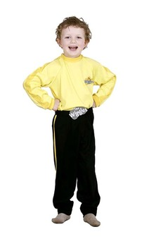 Yellow Wiggle Greg Sam Emma Child Wiggles Costume