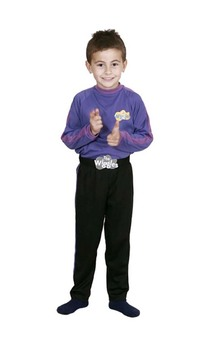 Purple Wiggles Jeff Lachy Child Wiggles Costume