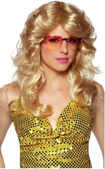 Blonde 60s 70s Adult Wig