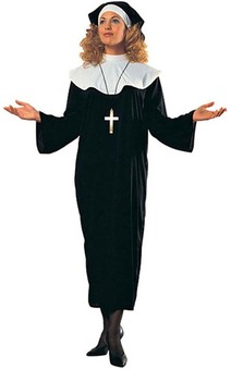 Nun Adult Religious Costume