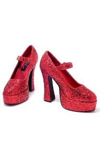 Dorothy Wizard of Oz Glitter Adult Shoes