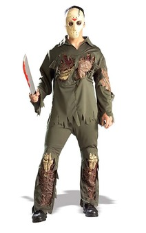 Super Deluxe Jason Voorhees Adult Costume