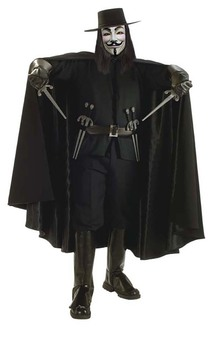Grand Heritage V for Vendetta Adult Costume