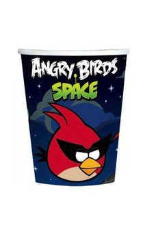 Angry Birds Space 9 oz. Paper Cups (8)