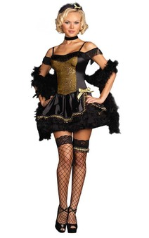 Sexy Western Bar Maid Adult Costume