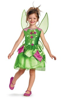 Tinkerbell Fairy Child & Toddler Costume