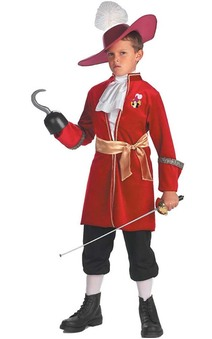 Disney Peter Pan Captain Hook Pirate Toddler Costume