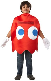 Pac Man Blinky Retro Video Game Child Costume