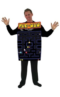 Pac-man Video Game Screen Adult Costume