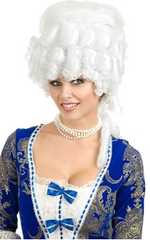 Colonial Maiden Renaissance Adult Wig