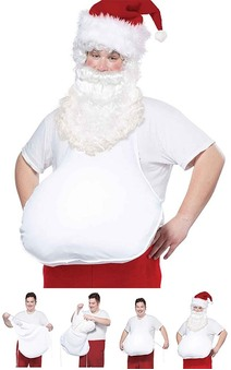 Santa Belly Adult Costume