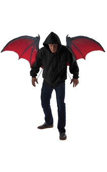 Bloodnight Bat Wings Adult Vampire Costume Accessory